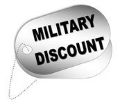 Garage Door Miliotary discount